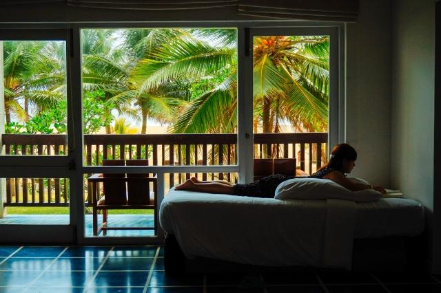 リゾートホテルの部屋