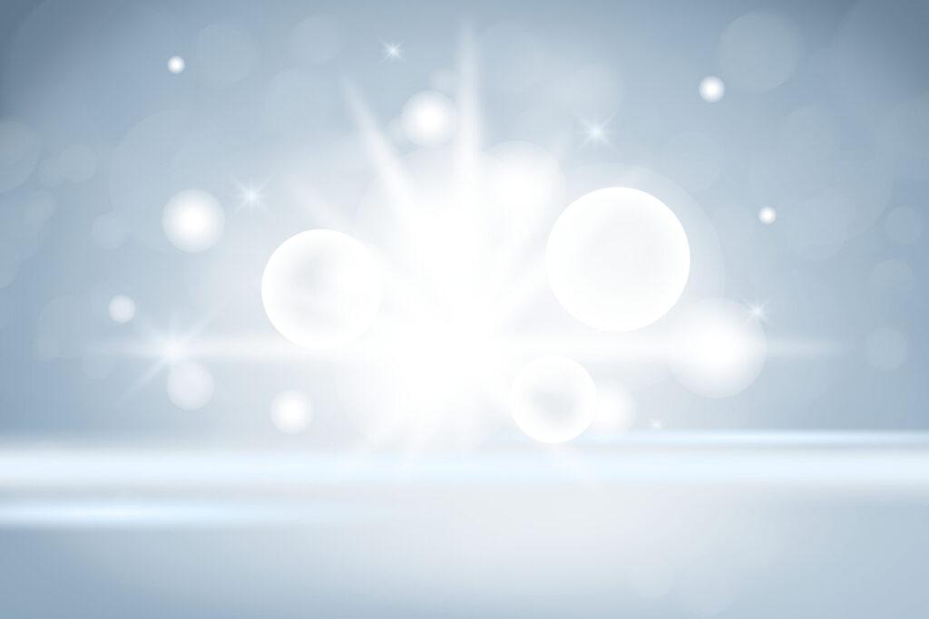 キラキラの光の画像